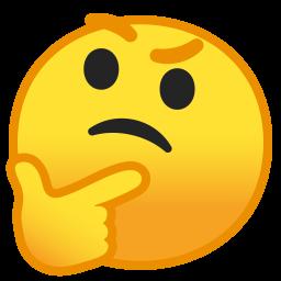 10024 thinking face icon1